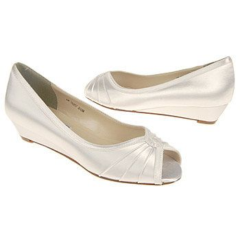 wedge flats for the reception