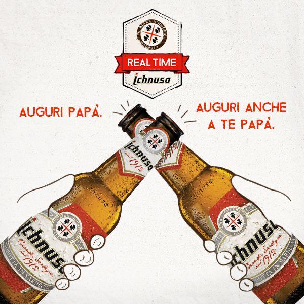 Con voi festeggiamo da generazioni. Buona Festa da Birra Ichnusa!