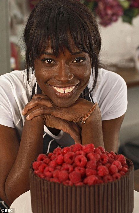 Lorraine Pascale - so fun to watch her cook and her recipes are great :)