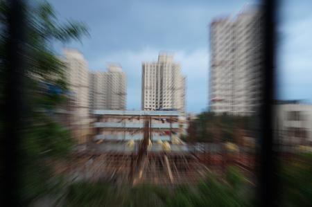Zoom Burst View outside my balcony Photo by Akhilesh Raja — National Geographic Your Shot