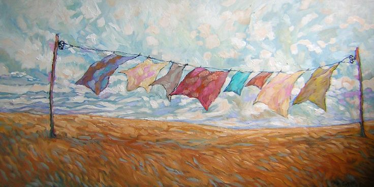 photos and paintings of laundry - Google Search