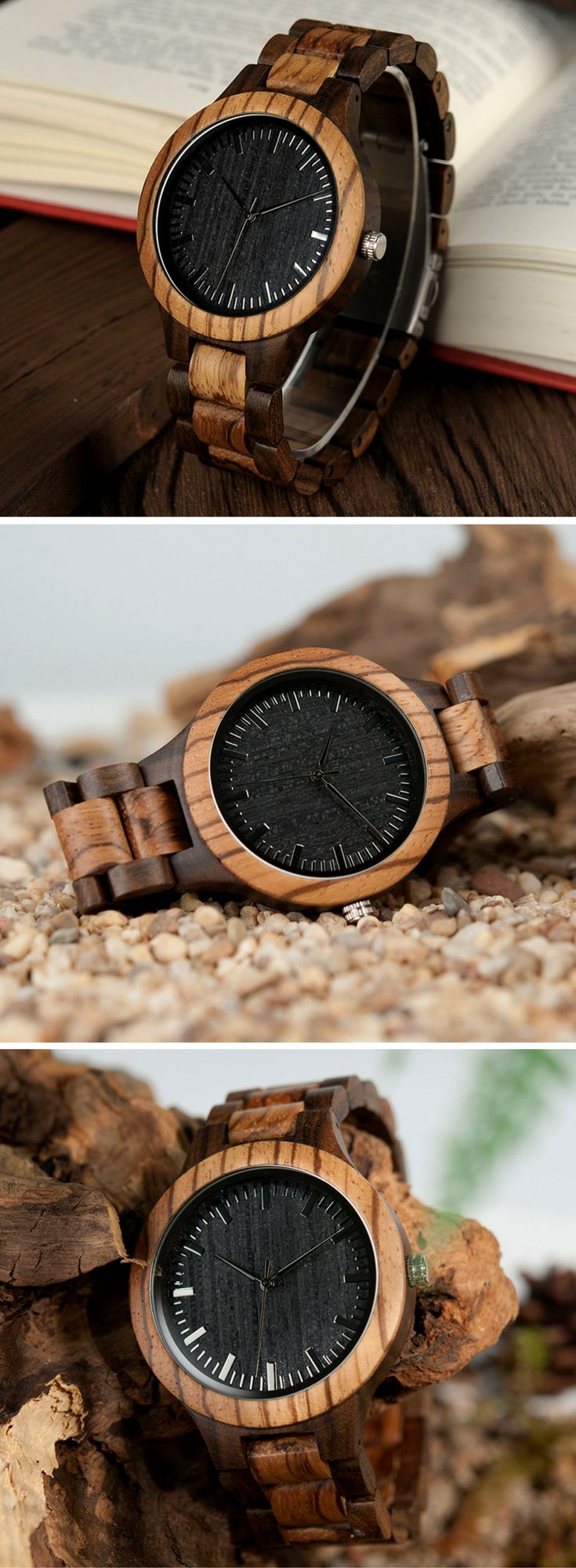 A classy men's watch made from premium zebra wood and ebony wood   men's watch affordable, men's watches affordable, watch for men affordable, watches for men affordable, affordable watch, affordable watch for men, affordable watch collection, affordable