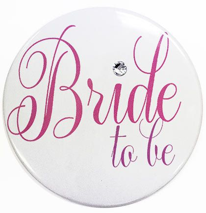 This will be a keepsake that the Bride and/or Bridal Party will always enjoy! This fun button is the perfect accessory for your Bachelorette Party,