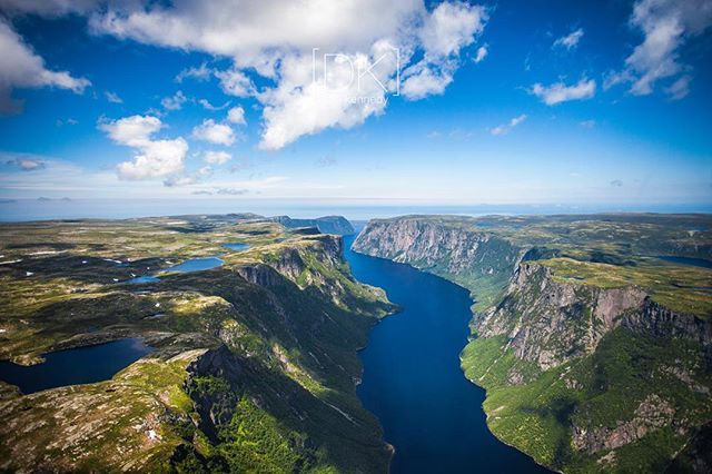 Western Brook Pond... This is definitely one of my favourites from the past few years!  #explorenl #grosmorne #westernbrookpond #newfoundland #canoncanada @newfoundlandlabrador @canoncanada