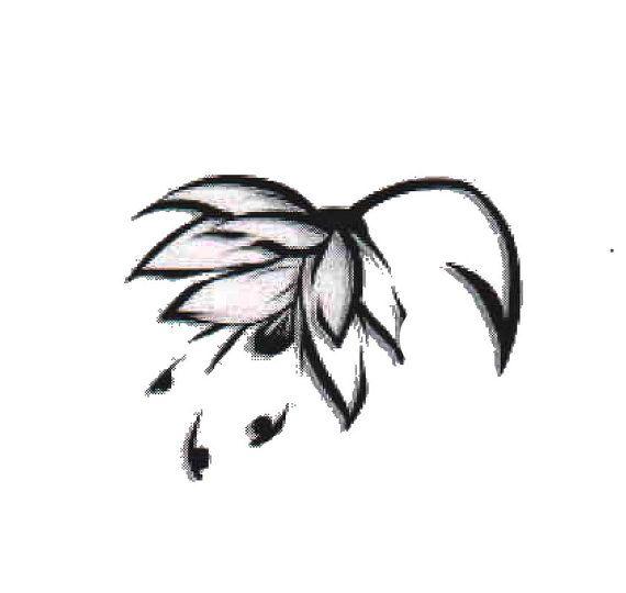 Lotus Temporary Tattoo  SomaArtTattoo Temporary by SomaArtTattoo