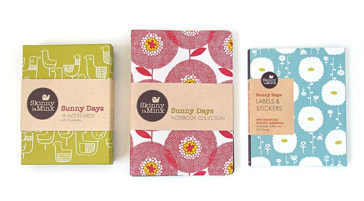 Sunny Days stationery collection by Skinny laMinx for Chronicle Books #SkinnylaMinxforChronicle #SkinnylaMinxSunnyDays