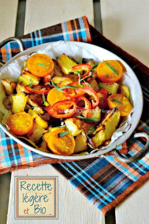 Recette patisson - Poêlée bio de patisson aux pommes de terre provençale