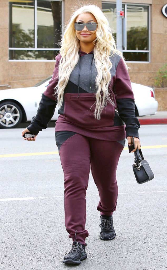 Blac Chyna from The Big Picture: Today's Hot Pics  Comfy Chyna! The reality star keeps it casual while out and about in Los Angeles.