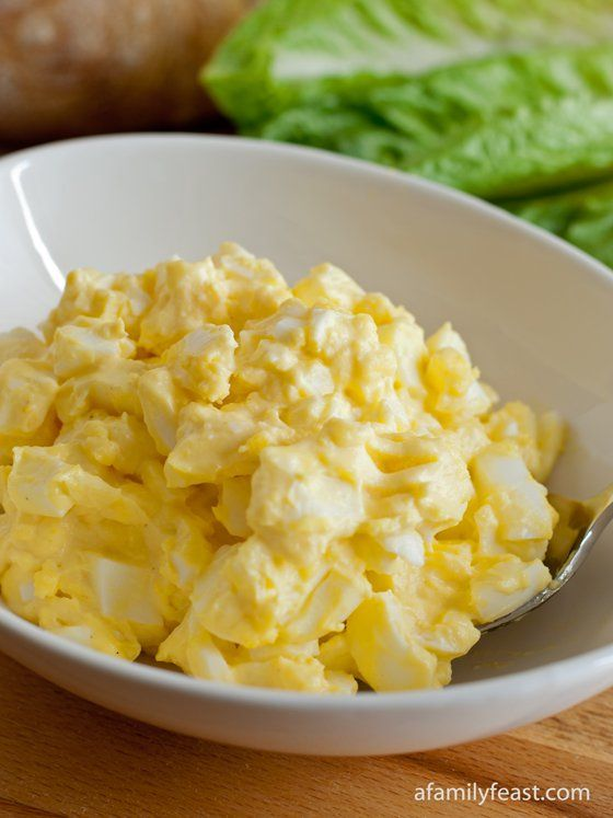 Classic Egg Salad - Simple and delicious! Pin this recipe now so you have it for after Easter.