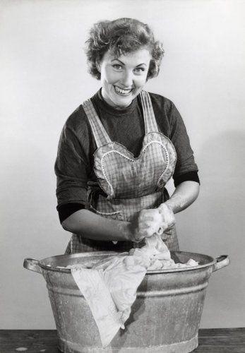 De handwas jaren vijftig