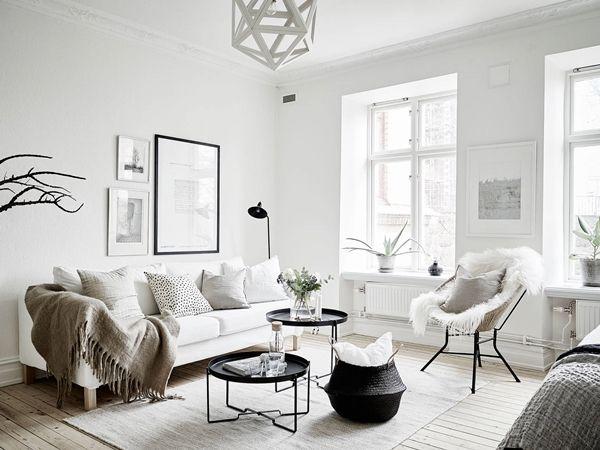 Ljus sekelskiftesetta med underbara originaldetaljer ‹ Dansk inredning och design