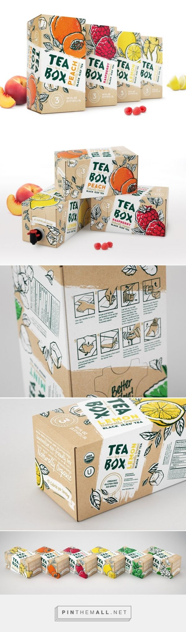 Tea In A Box - Packaging of the World - Creative Package Design Gallery…