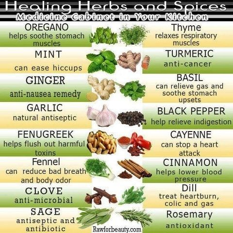 Healing Herbs and Spices How To Make Vitamins Work myherbalmart.com/how-to-make-vitamins-and-minerals-work-for-you