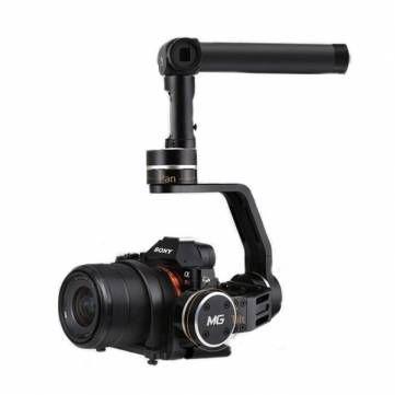 Feiyu MG Micro Single Lens Camera Handheld 3 Axis Gimbal 360 Degree Rotate Wireless Control Stabilizer #Banggood #Camera