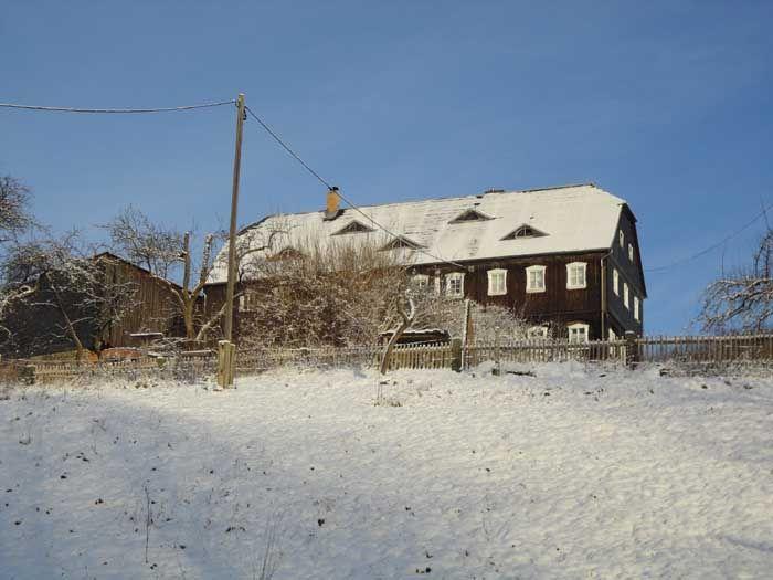 At Christmastime in Neusalza-Spremberg Upper Lusatia - East Germany (27.12.2014)