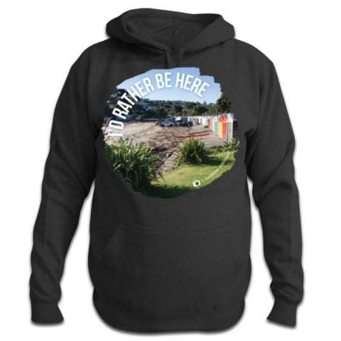 I'd Rather Be Here - NZ Hoodie