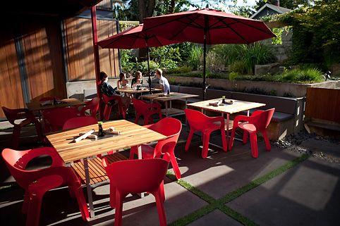Yakuza Lounge Patio Portland Oregon Patio Outdoor