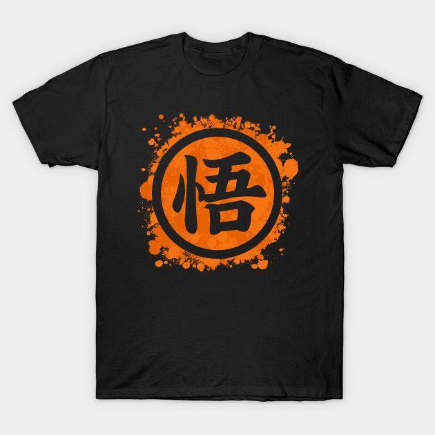 Goku Logo Splatter T Shirt