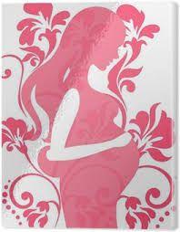 Resultado de imagen de mujer embarazada cuadro