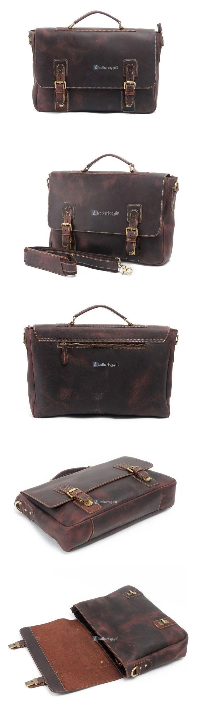 $168 Messenger Bags for Men Leather Shoulder Bag