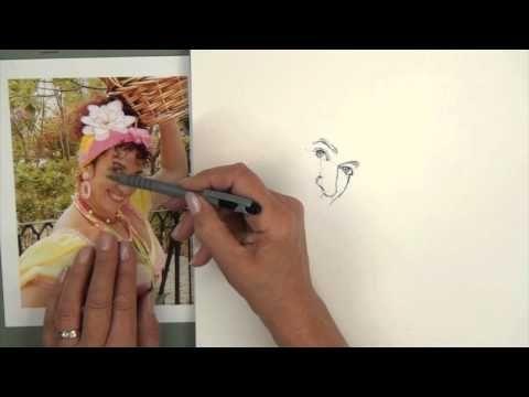 Portrait Drawing Course: Part 3 - Measuring