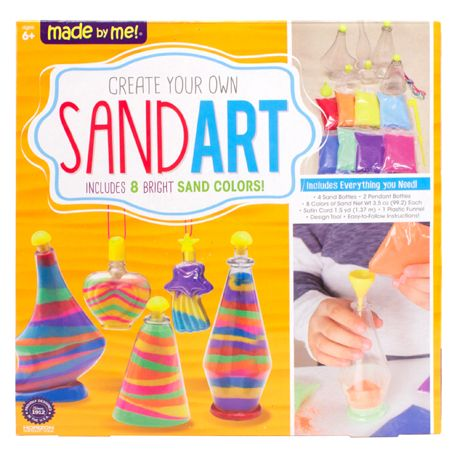 Made by Me™ Sand Art - craft project ideas