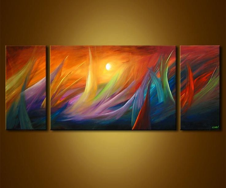 Contemporary Art | modern waves painting - Abstract and Modern Art Painting