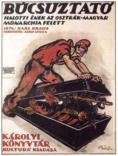 Biró Mihály: Búcsúztató. Halotti ének az Osztrák-Magyar Monarchia felett. (1918)