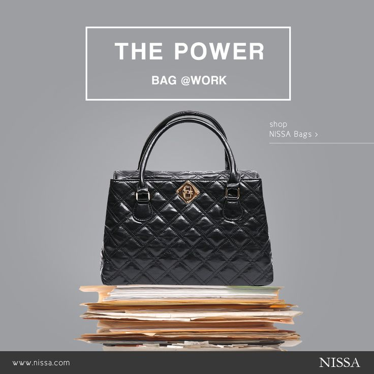 The POWER BAG @work. Start your perfect work week with a new NISSA bag! bag: http://goo.gl/8cJtcI #nissa #bags #bag #handbag #geanta #accesoriu #accessories #fashion #fashionista #black #job #office #workday #poseta #accesorii