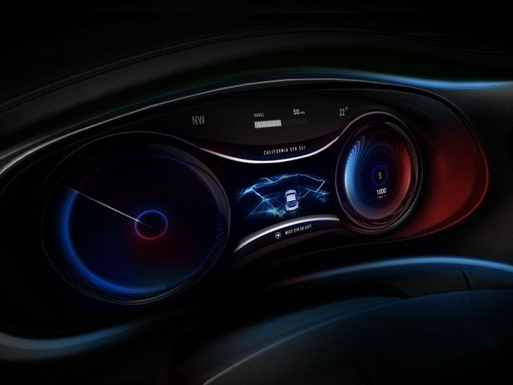 Elegant Dashboard Automotive Product Design For Fantasy By Gleb Kuznetsov #Design  Popular #Dribbble #shots