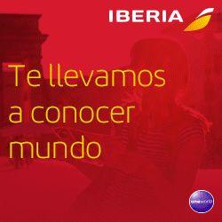 Hasta el 23 de marzo, puedes encontrar auténticas gangas en vuelos de Iberia: nacionales, a las principales ciudades europeas y también a sudamérica y EEUU.