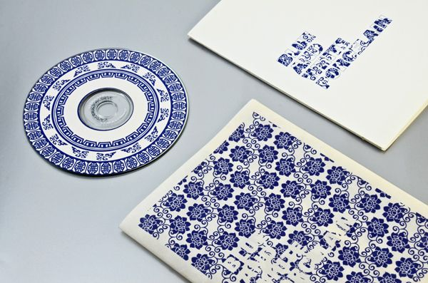 BLUE AND WHITE PORCELAIN by Delon Ko, via Behance
