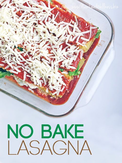How to freeze lasagna with fresh spinach and no-bake noodles. I love having one on-hand for night's that I can't cook dinner. So easy and delicious.