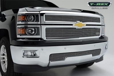2014 CHEVROLET SILVERADO 1500 T-Rex Grilles Billet Grille Overlay: Billet Grille Overlay Fits 2014… #AutoParts #CarParts #Cars #Automobiles
