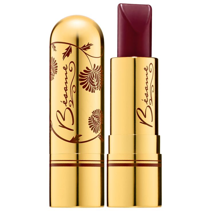 Bésame Classic Color Lipstick in Merlot 1933