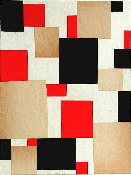 Collage by Cecil Touchon - would make a fab quilt                                                                                                                                                     もっと見る