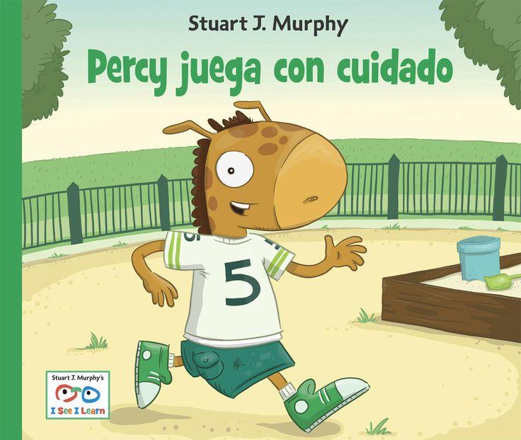 I See I Learn Percy juega con cuidado book about seguridad en los parque de recreao
