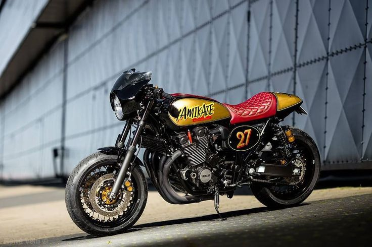 Yamaha XJR1300 Cafe Racer by Renard Speed Shop - Photo René Velli #motorcycles #caferacer #motos | caferacerpasion.com