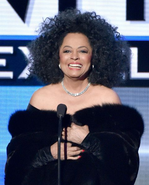 Diana Ross Photos Photos - Recording artist Diana Ross speaks onstage at the 2014 American Music Awards at Nokia Theatre L.A. Live on November 23, 2014 in Los Angeles, California. - American Music Awards Show