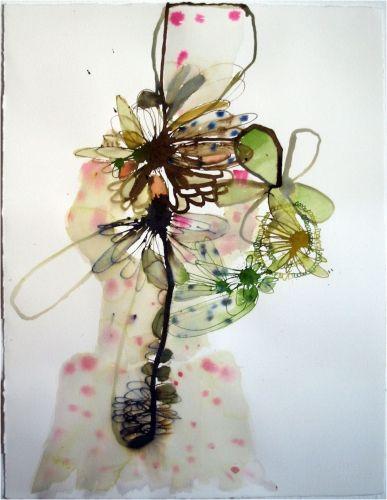 Elizabeth Terhune Amwries ink on paper
