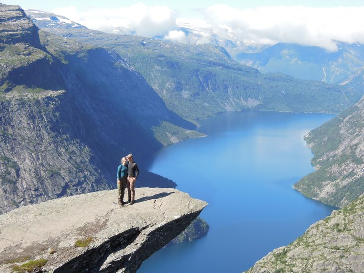 love at Trolltunga!