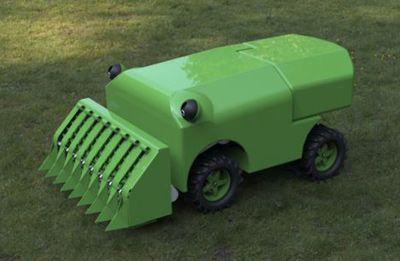 Robotics Lawnmower Powered by Grass - Robotics Trends