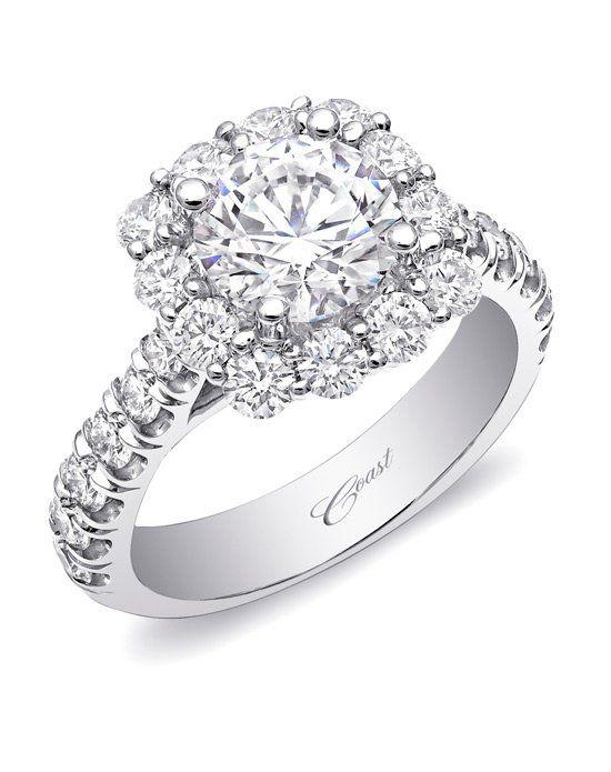 Cushion Halo Engagement Ring-LZ5015