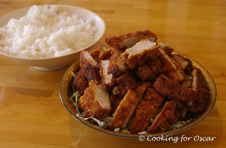 Cooking for Oscar: Japanese Breaded Pork Cutlets (Miso Katsu). Use pork for an amines challenge otherwise use chicken.