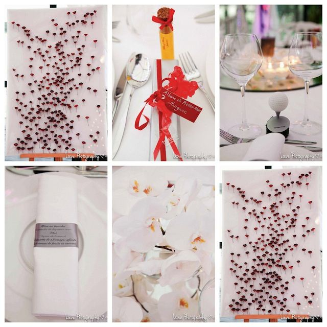mariage rouge et blanc fiole huile d 39 olive cadeau invit. Black Bedroom Furniture Sets. Home Design Ideas