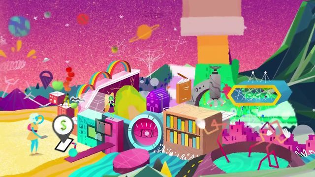Education software titan Blackboard approached JESS3 to create a motion graphic depicting the changing state of education. The video was to focus on t