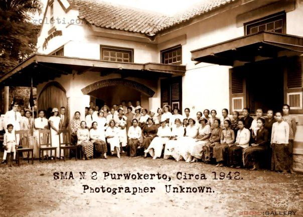 Ni dia foto Purwokerto Kota Satria tempo doeloe…..