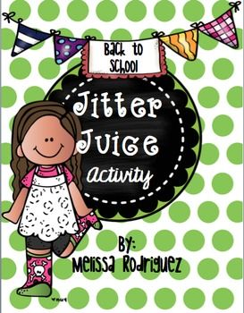 Jitter Juice Worksheet