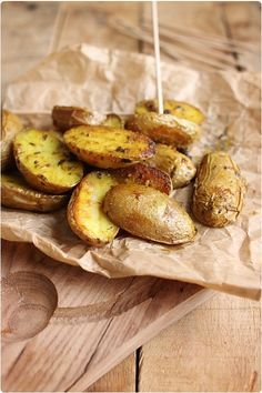 Pommes de terre rôties aux épices indiennes  #recette #pommedeterre #facile