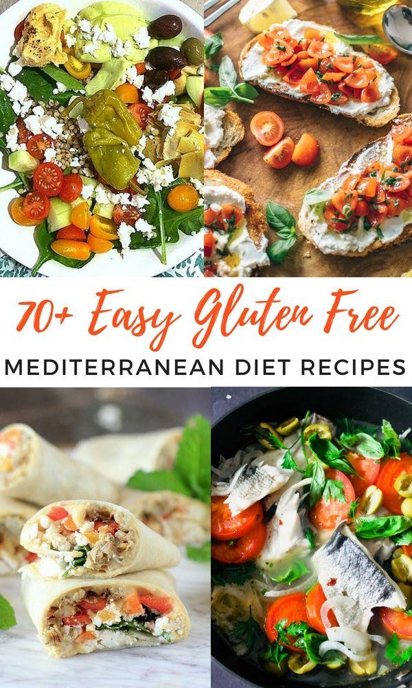 Mediterranean Diet Recipes for Your Health-Gluten Free